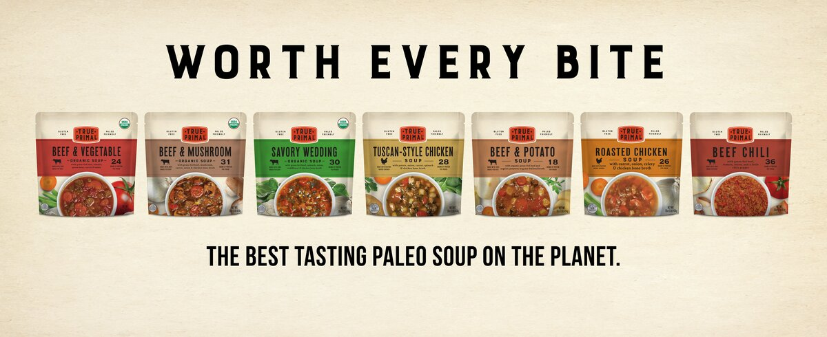 Worth every bite. The best tasting paleo soup on the planet.