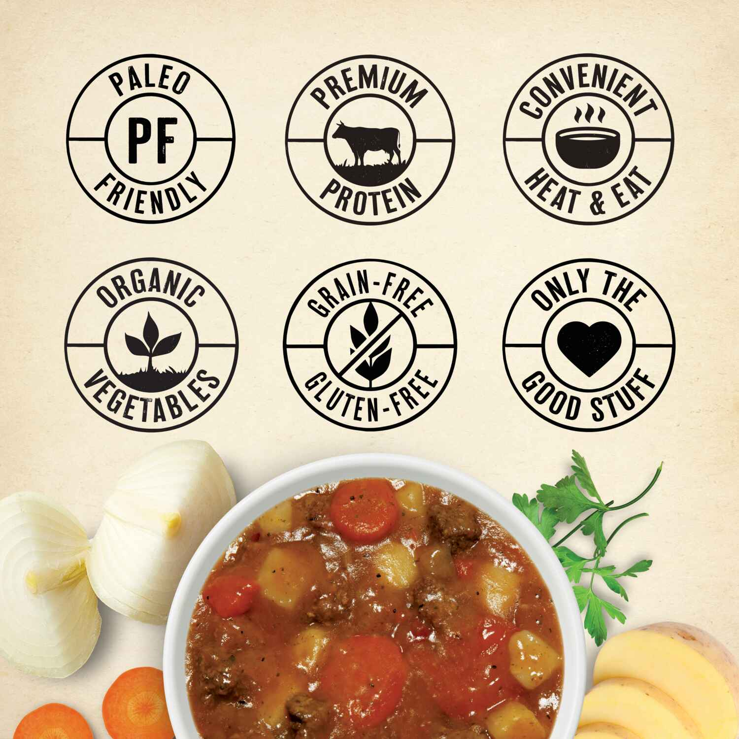 True Primal Beef & Potato Soup benefits