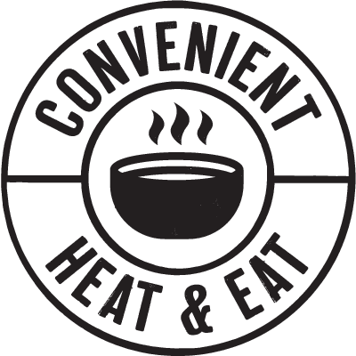 convenient heat and eat