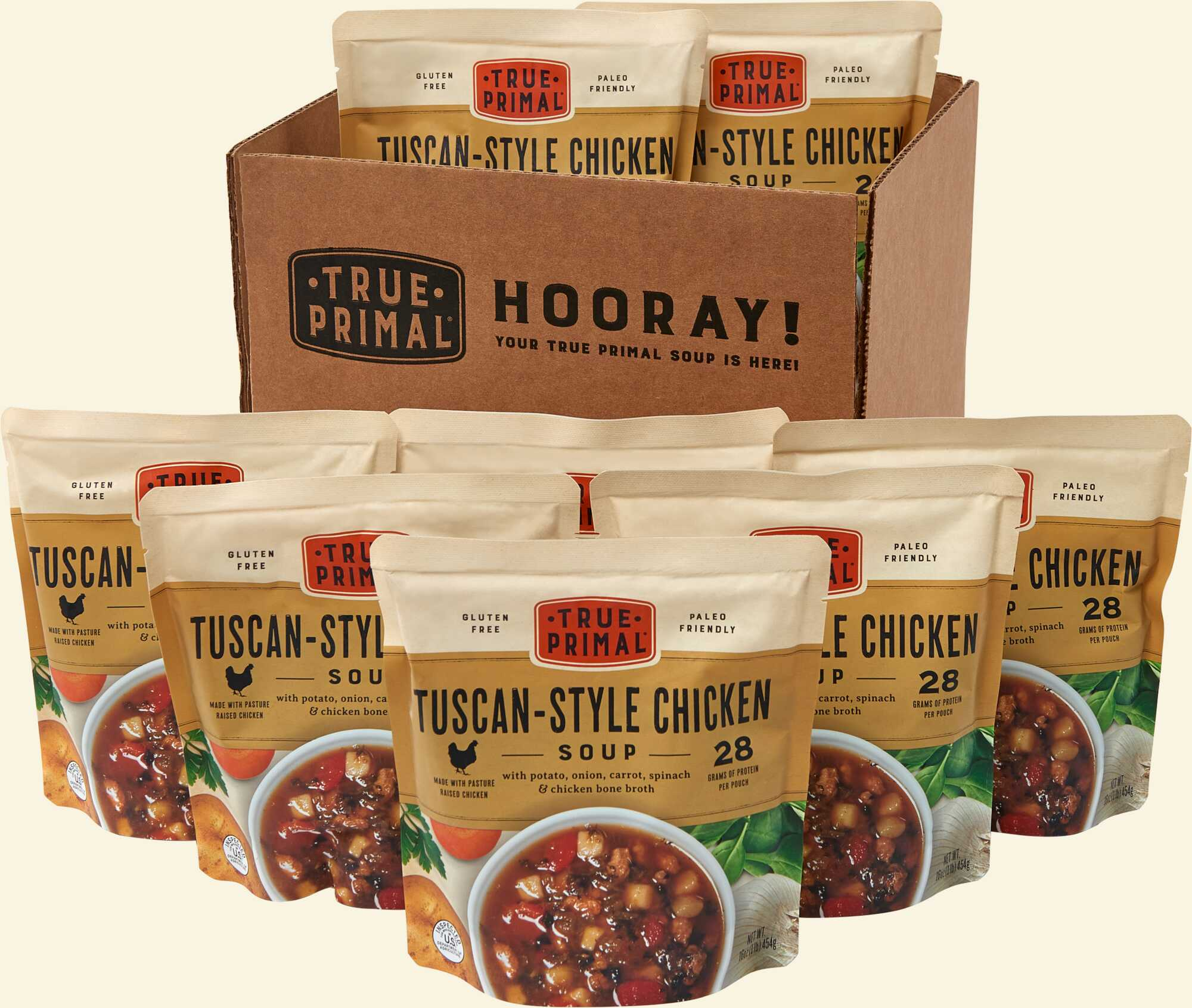 True Primal Tuscan-Style Chicken Soup 8-pack